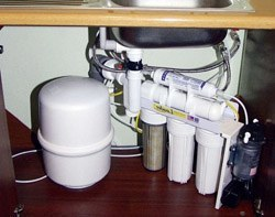 Установка фильтра очистки воды в Новокузнецке, подключение фильтра для воды в г.Новокузнецк
