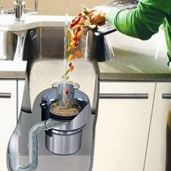Установка измельчителя пищевых отходов в Новокузнецке, подключение измельчителя пищевых отходов в г.Новокузнецк